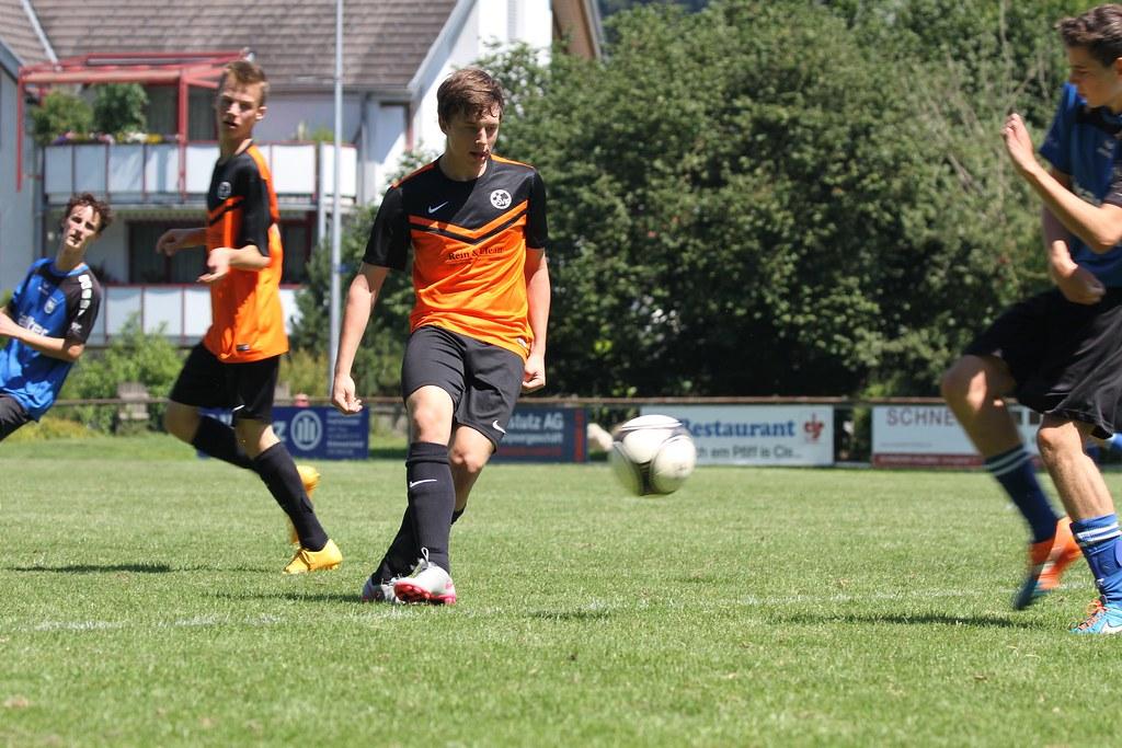 SVK - FC Heimberg Junioren B       Aug. 2016