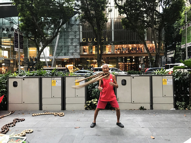 Performer at Orchard Road