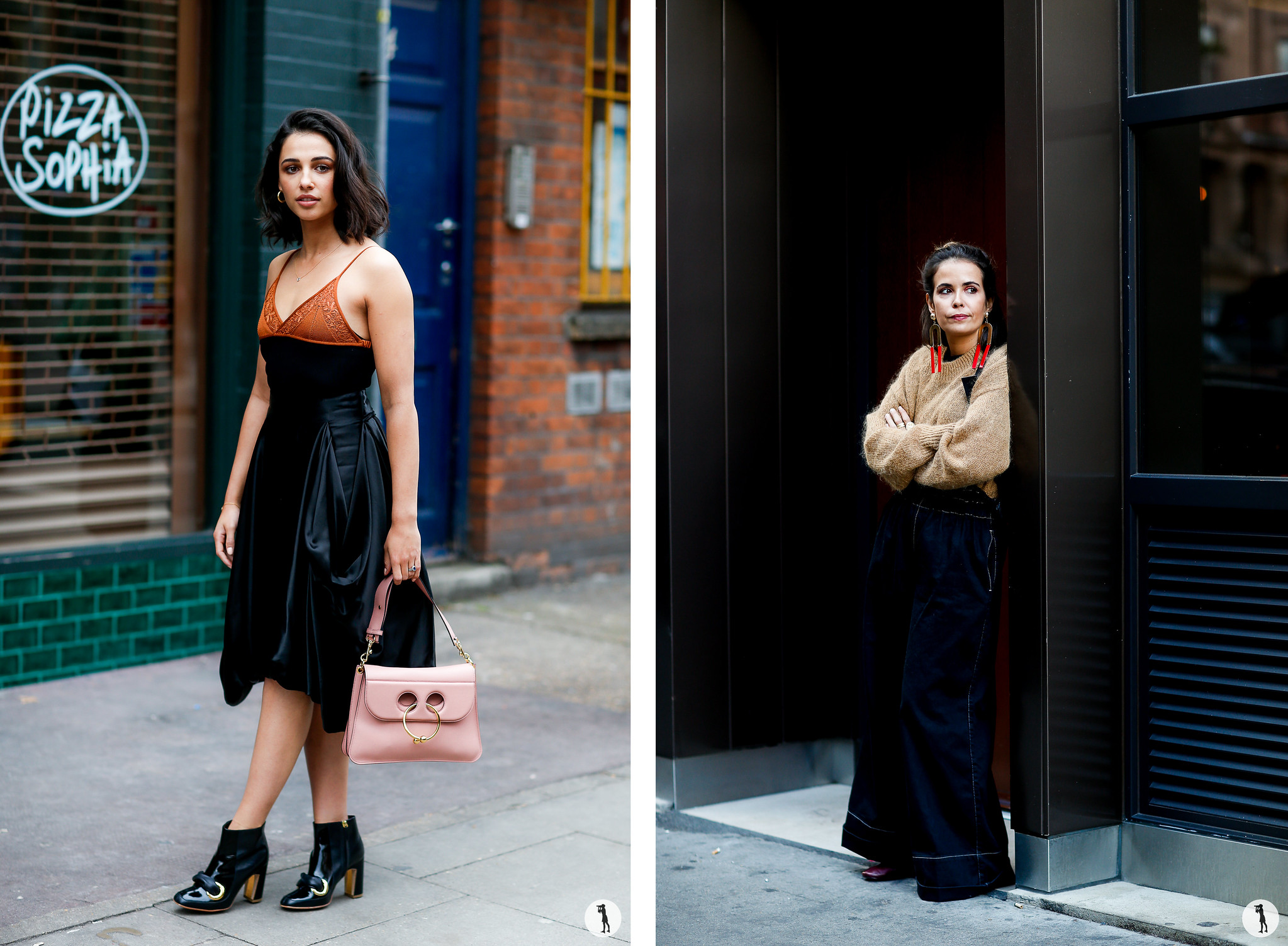 Naomi Scott and Sara Escudero - London Fashion Week SS18