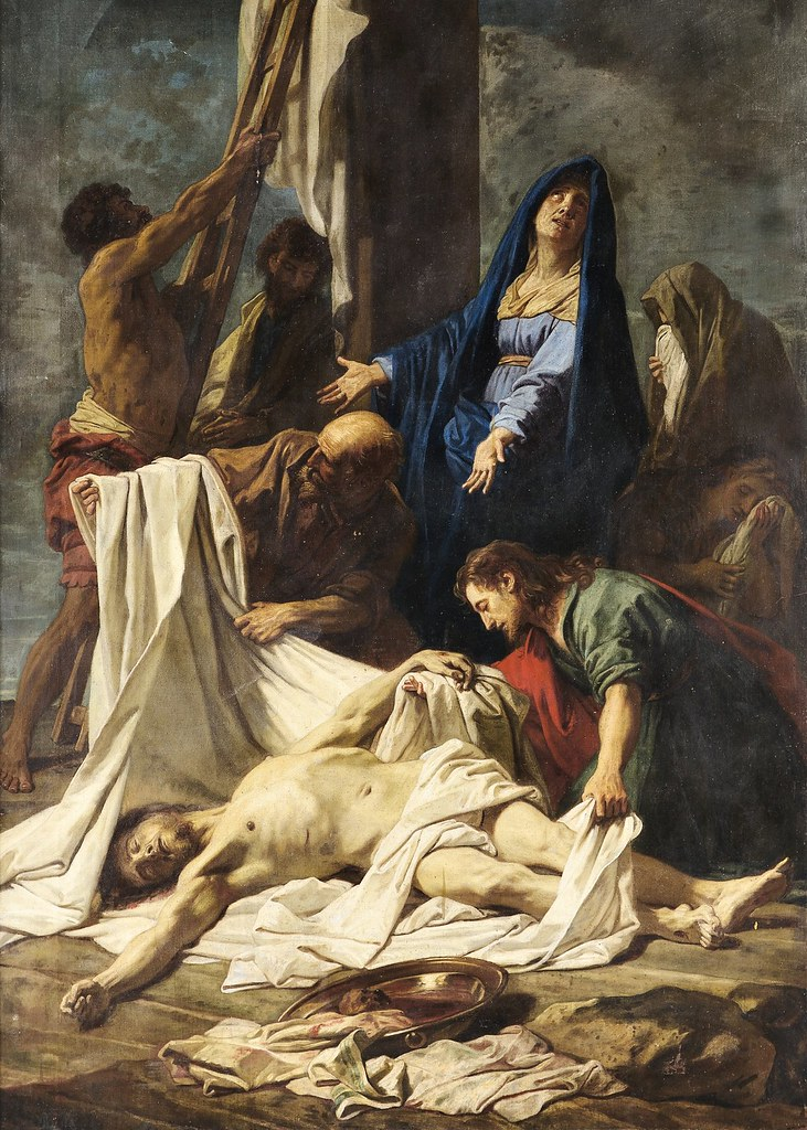 Jean-Baptiste Jouvenet et atelier - La Deposition de la Croix