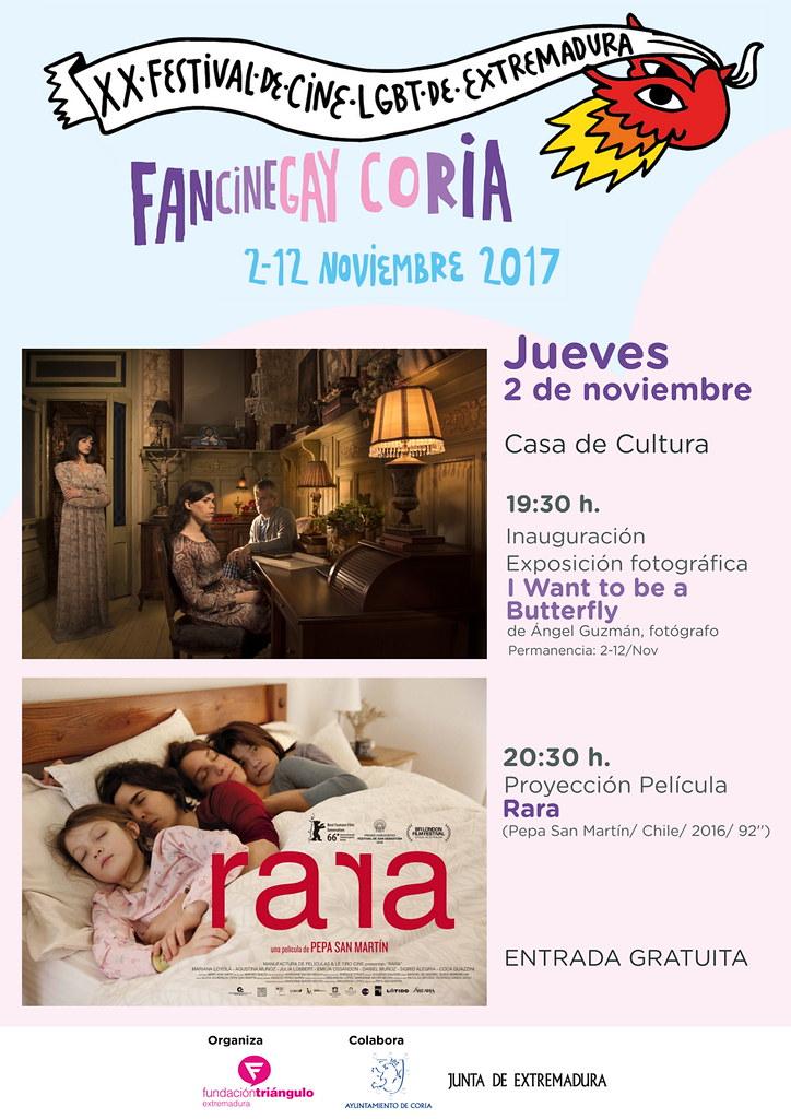 FanCineGay celebrará actividades en Coria del 2 al 12 de noviembre