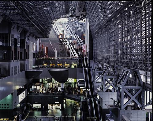 Kyoto Sta. 4x5 film