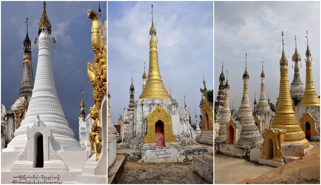 Pagoda Shwe Inn Dain, Inle
