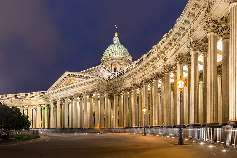 Our Lady of White Nights | Kazan Cathedral, St. Petersburg, Russia