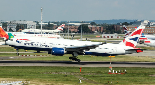 G-YMMA British Airways Boeing 777-236(ER)