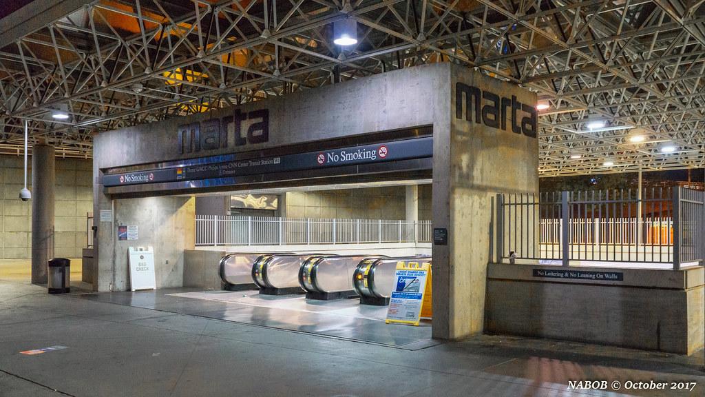 Atlanta Ga Marta W 1 Georgia Dome Phillips Arena Station Flickr