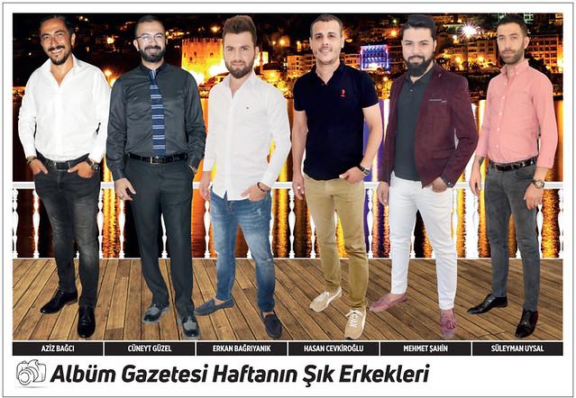 Aziz Bağcı, Cüneyt Güzel, Erkan Bağrıyanık, Hasan Cevkiroğlu, Mehmet Şahin, Süleyman Uysal