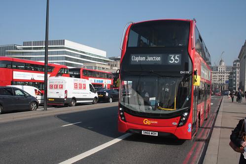 Go-Ahead London EH119 SN66WOH