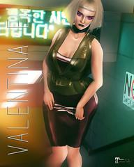 NEW!  Valentina E. Monique Latex @ FaMESHed!