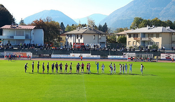 Union Feltre-Virtus Verona 1-2: Manarin spinge in alto i rossoblu