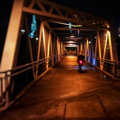 Night bicycling. #nightbiking
