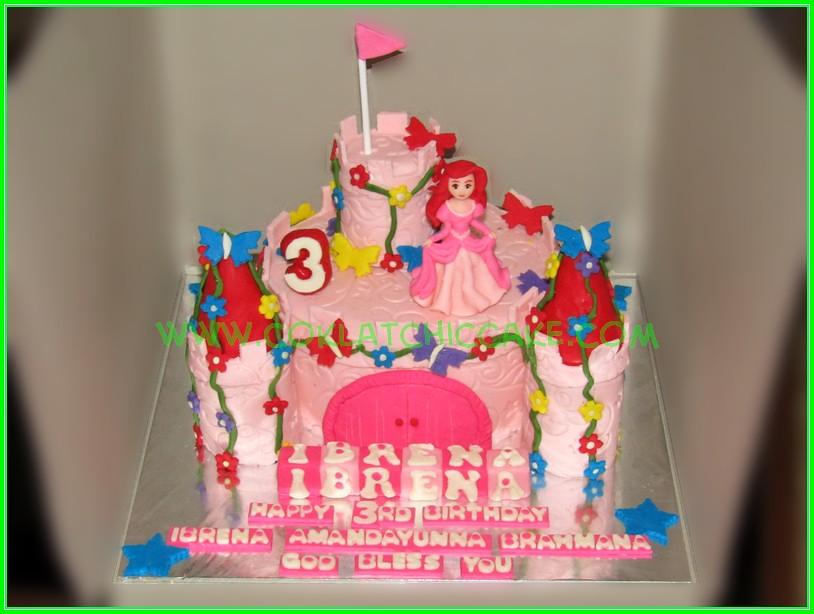 Cake Castle Princes Ariel