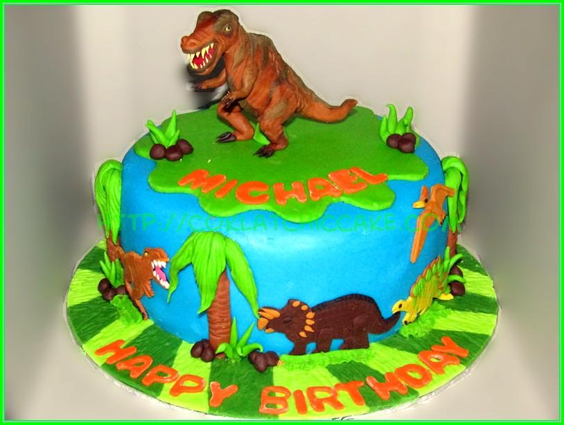 cake dinosaurus Michael