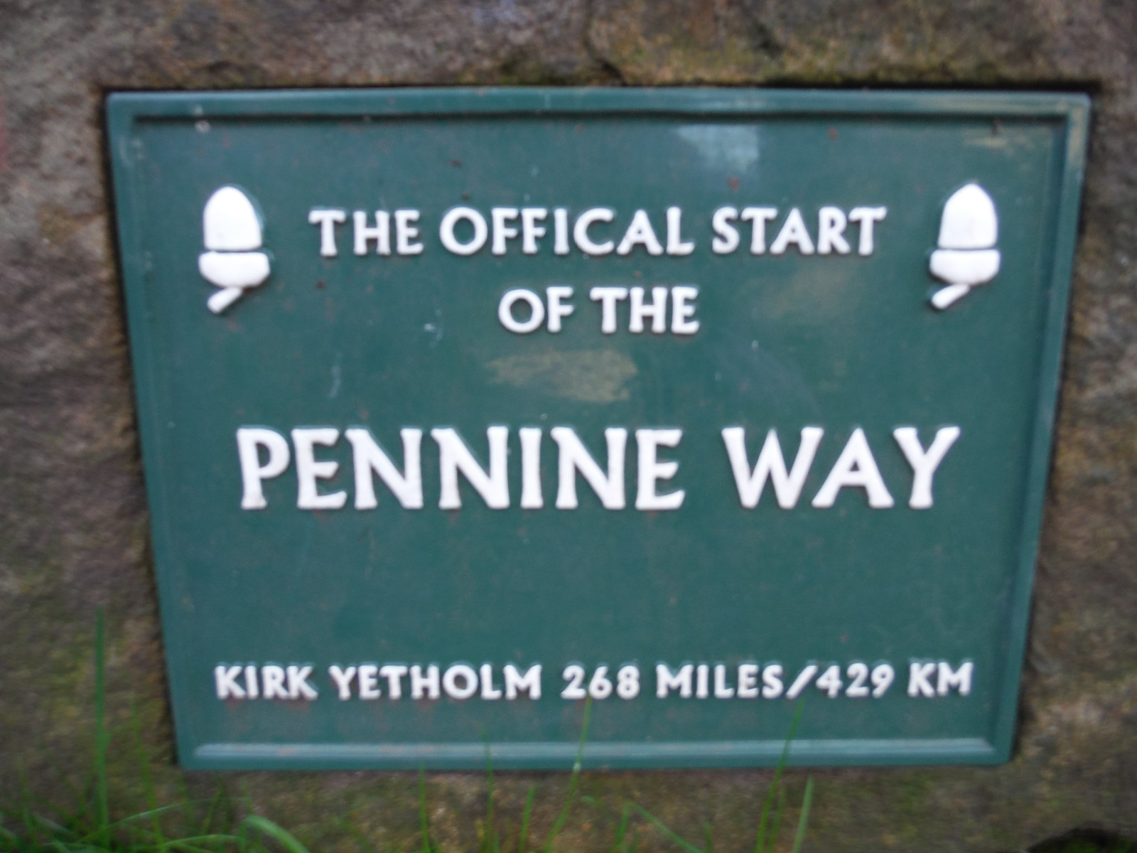 Official Start of the Pennine Way, Edale SWC Walk 304 - Kinder Scout Circuit (from Edale)