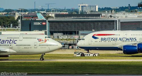 G-VROS Virgin Atlantic Airways Boeing 747-443