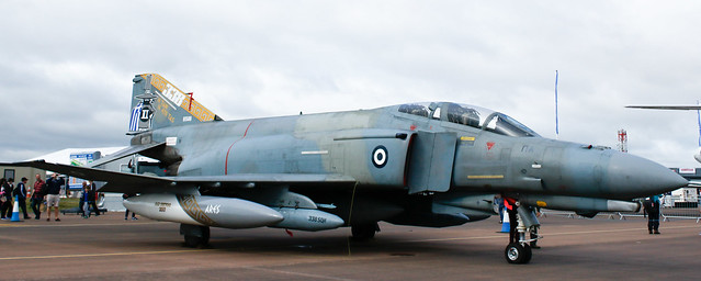 Mcdonnell Douglas F-4 Phantom,RIAT,RAF Fairford,Gloucestershire.