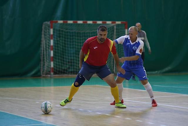 2017-09-30 Veteran's Futsal Cup «40+». День 2. Часть 1