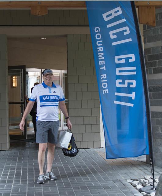 Bici Gusti Gourmet Ride Whistler 2016 - Inaugural year