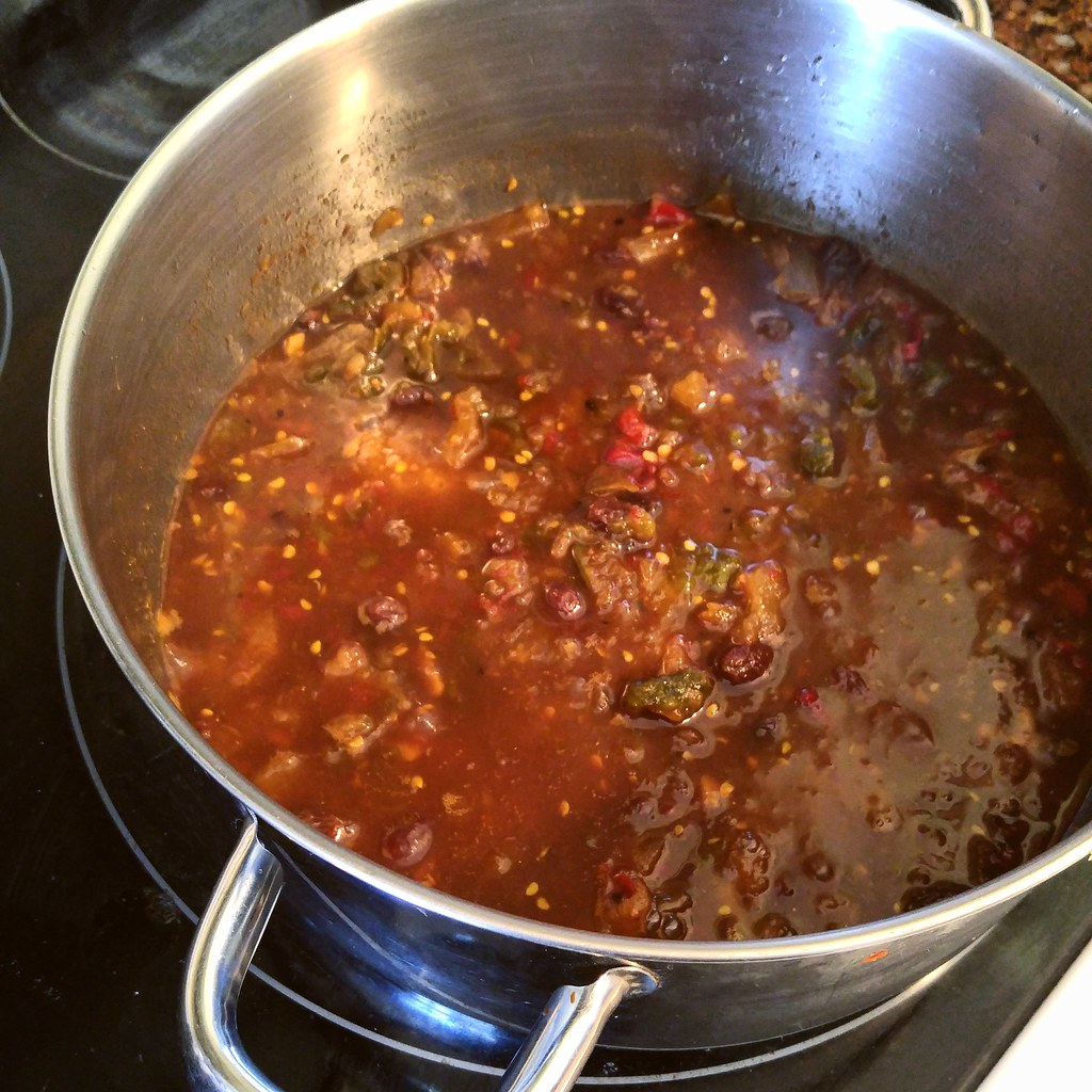 Chili-Spiked Green Tomato Chutney