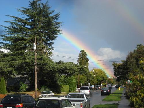 King Street rainbow(s)