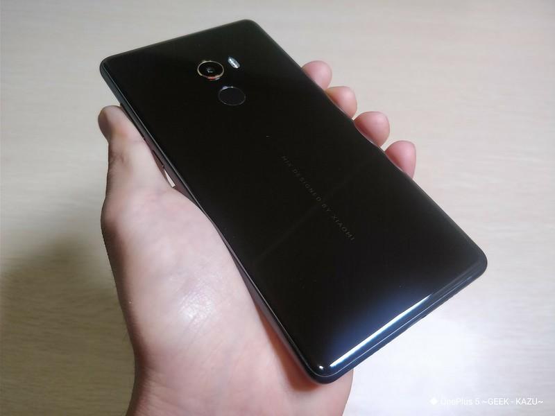 Xiaomi mi mix 2 開封レビュー (16)