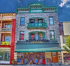 Lake Saranac  ~ New York ~ Roberts Block ~  77 - 79 Main Street