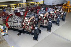 First Four Space Launch System Flight Engines Ready To Rumble
