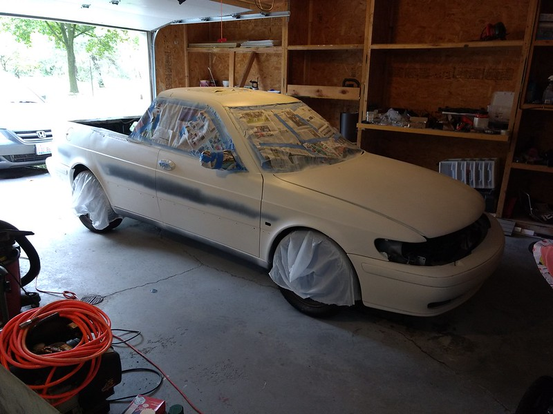 Rust-Oleum American Accents Spray Paint on a car| Grassroots