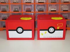 Tomy (Shine) Pokemon Pikachu Bank - Differences between Japanese & English Version