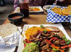 photo - 1/2 Steak Fajitas Plate, La Penca Azul Bay Farm Island