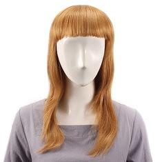 Long Straight Full Bang Wig Human Hair Wigs Virgin Remy Mono Top Capless (989839) #Banggood