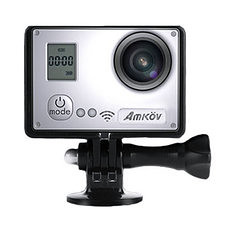 Amkov AMK7000S 1080P HD 60fps WiFi Action Camera with Remote Controller Sunplus 6350 Chipset (1009126) #Banggood