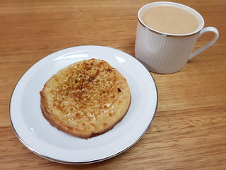 Crumpets and Chocolate Chai