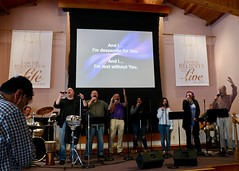 Song & Testimony Service (10-22-2017) & Fellowship Luncheon