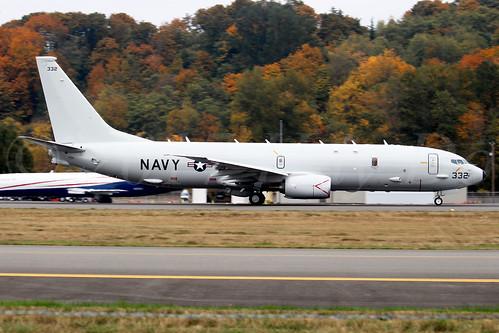Boeing P8A Poseidon USN 169332 LN6385