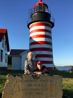 West Quoddy Head (Lubec, ME) -- Easternmost Point of the 48 Contiguous States of the USA September 2017