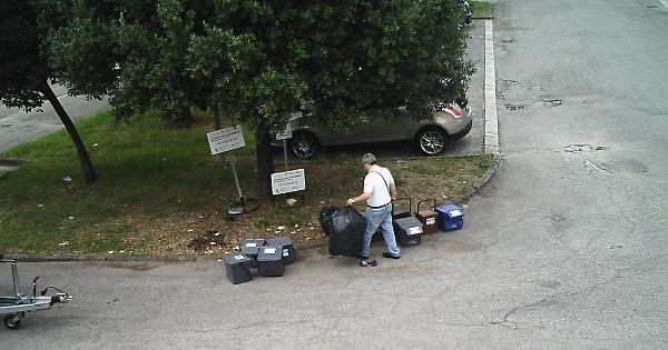 fototrappole rifiuti