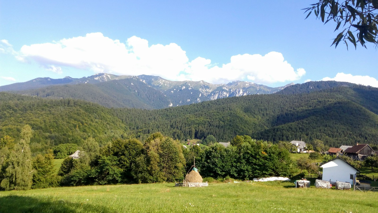 Muntii Bucegi, partea nord vestica.