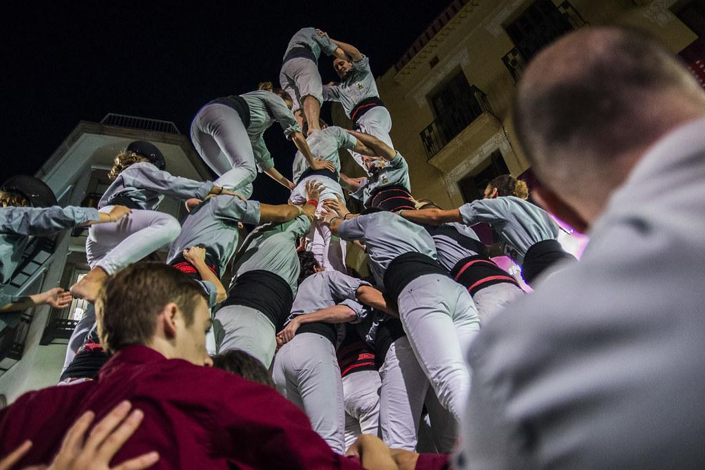 XXV Diada de la Colla Jove de Castellers de Sitges, Sitges 28 d'octubre de 2017