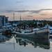 Dutch barge Potishead Marina