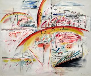 Tafelbild von Peter Brüning