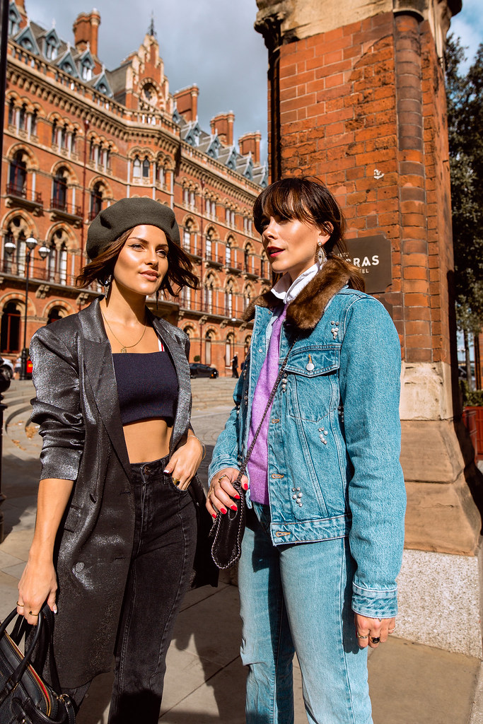 The Little Magpie and Megan Ellaby Bloggers Style Sparkle trend London