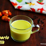 Turmeric milk recipe