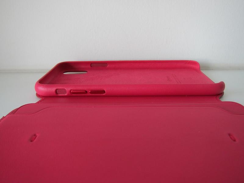 Apple iPhone X Folio Case - Left