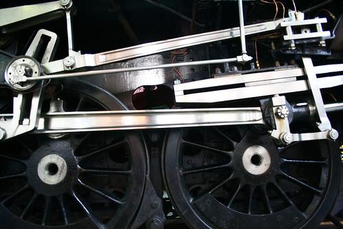 train up close