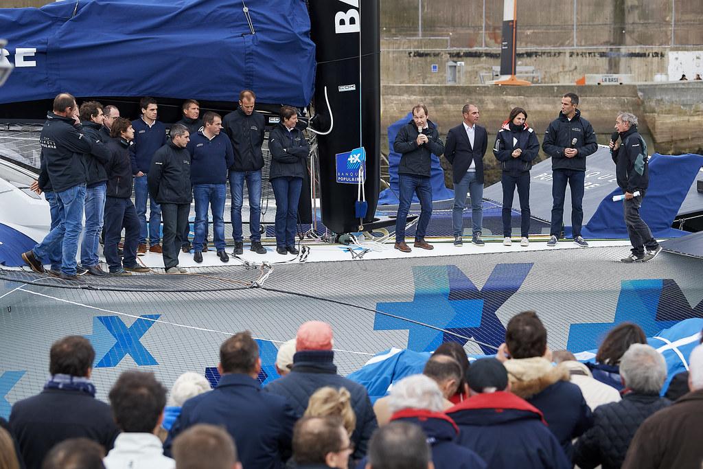 Baptême - Maxi Banque Populaire IX
