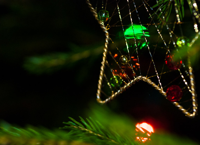 Christmas Ornament with Adaptalux Lighting