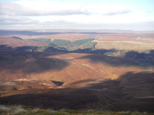 Woodlands Valley and Lady Clough