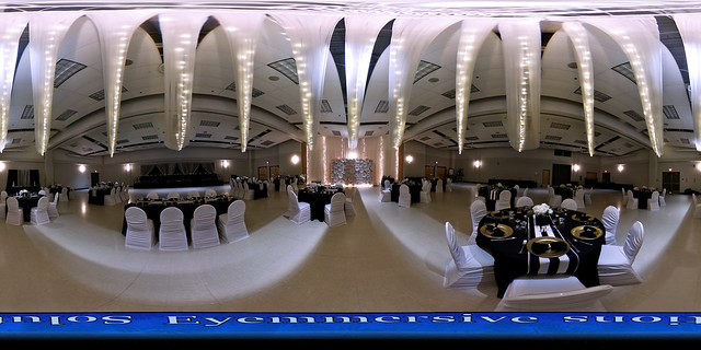Event photography - 360 degrees virtual tour of wedding venue