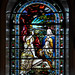 Stained glass window, St Peter, Sowerby